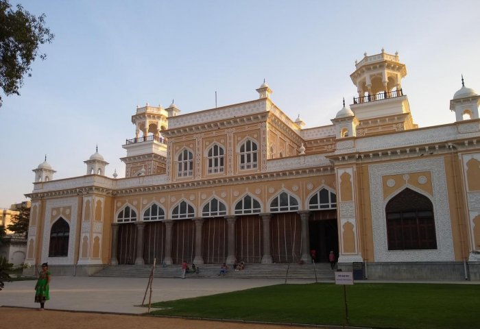 Chowmahalla Palace in Hyderabad. PHOTOS BY AUTHOR
