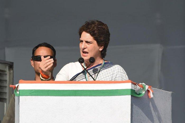Priyanka Gandhi Vadra. (AFP File Photo)