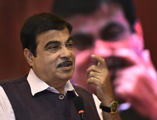 Union minister and senior BJP leader Nitin Gadkari. PTI File photo