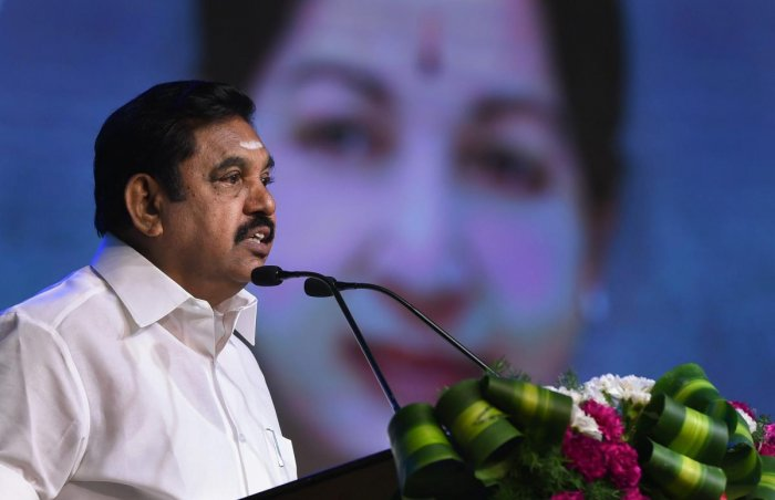 Tamil Nadu Chief Minister K Palaniswami. (PTI File Photo)