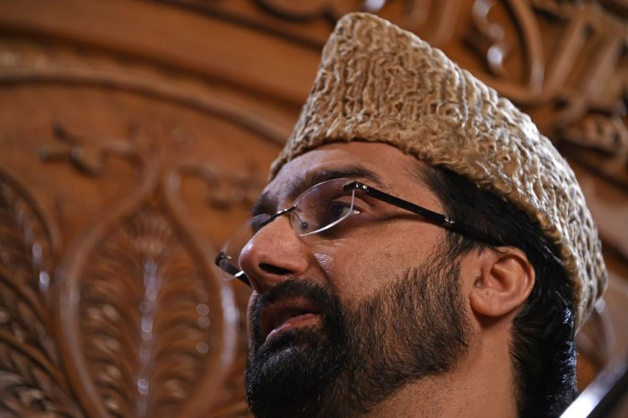 Mirwaiz was provided security upon his arrival at Delhi airport as was assured by the NIA after he raised the issue for appearing at the agency's headquarter in the national capital. AFP File photo