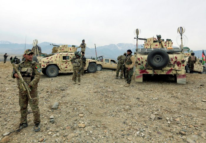 In the latest assault on Afghan forces -- who have faced devastating losses in recent years -- Taliban fighters last week smashed through government lines near the city of Bala Murghab, seizing several checkpoints. (Reuters File Photo)