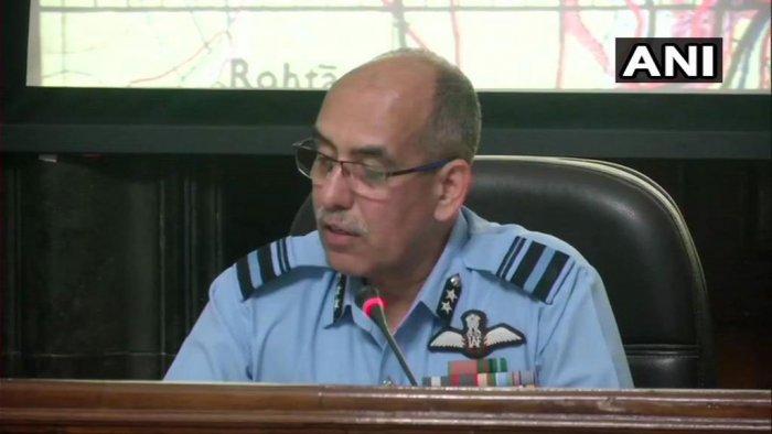 Air Vice Marshal RGK Kapoor. ANI photo