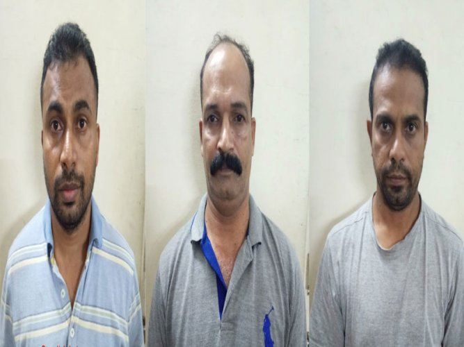 The Mangaluru city police arrested three persons on the charges of cricket betting.
