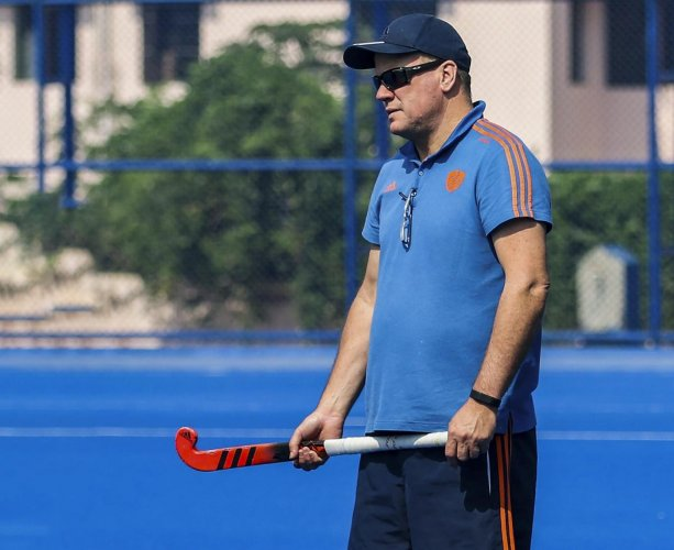 CONFIDENT Men's hockey coach Graham Reid feels India's defensive structure needs a major overhaul . PTI