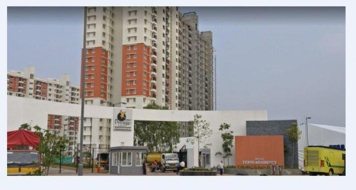 Prestige Ferns Residency on Haralur Road in Bellandur.