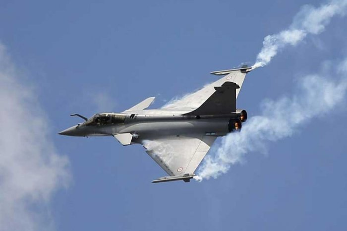 """In an affidavit filed on March 13, the government said the leak was a """"conspiracy"""" to jeopardise national security and friendly relations with France, the home of Rafale's manufacturer, Dassault Aviation. (DH File Photo)"""