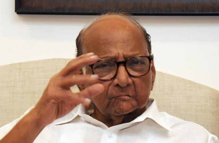 """In every speech, Modi criticises the NCP and Congress, but never tells what the BJP and Shiv Sena have done during the last five years,"" Pawar said. PTI File photo"