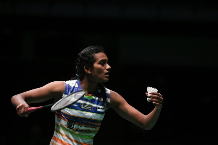 P V Sindhu. File photo