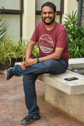 Hemanth M Rao, director of 'Kavaludaari'.