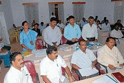 TMC functioning irks minister