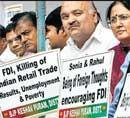 Trinamool, DMK join Oppn on FDI