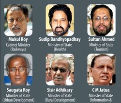 Cong cool as TMC leaves UPA govt