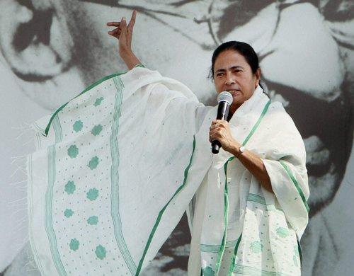 Trinamool Congress chief Mamata Banerjee on Modi