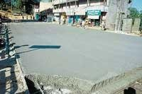 Concrete works completed on time; TMC proves efficiency