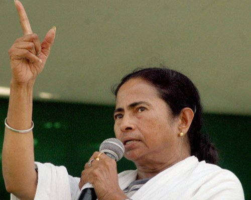 Mamata threatens to send TMC MPs to BJP-ruled states