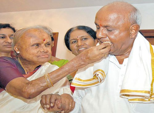 I will never retire from politics, says Deve Gowda at 84