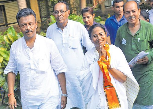 Trinamool surges ahead in initial rounds of counting in WB