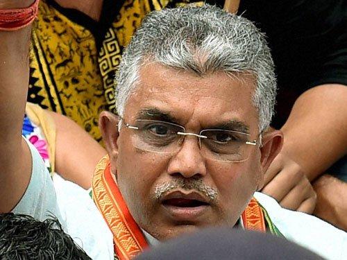 BJP workers can break shoulders of TMC activists with bare hands: Ghosh
