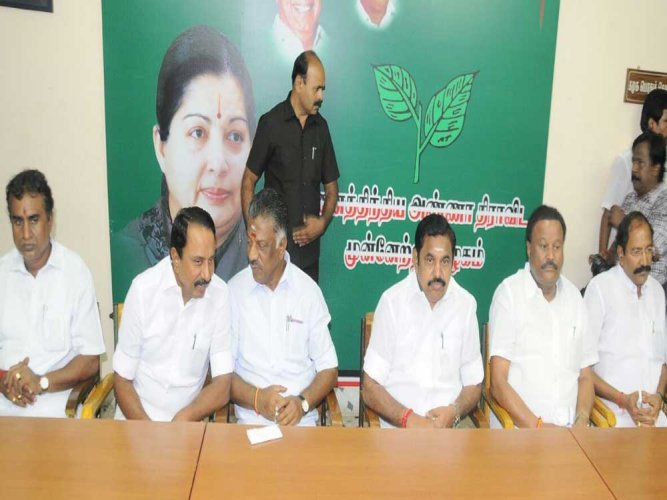 Tamil Nadu's ruling AIADMK on Sunday retained just one Lok Sabha constituency in the state capital while giving away the remaining two to its partners – PMK and DMDK – as the party announced the list of seats to be contested by constituents of the rainbow alliance. DH file photo