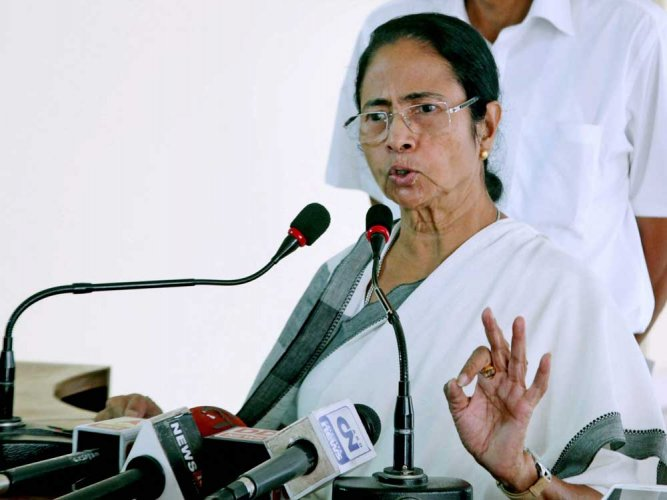 The ruling party in West Bengal under the leadership of Chief Minister Mamata Banerjee has so far been a step ahead of its rivals. PTI file photo