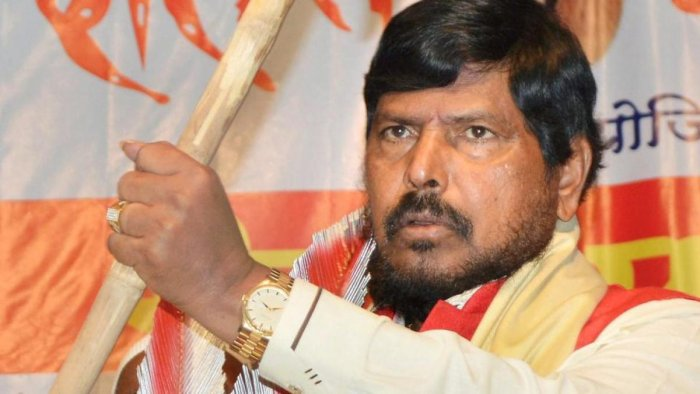 """I am not suffering from rising fuel prices as I am a minister,"" Athawale had said, referring to the allowances he gets. (File Photo)"