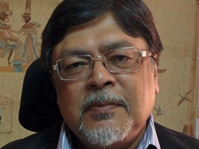 Former Rajya Sabha member of the BJP, Chandan Mitra, image courtesy Twitter