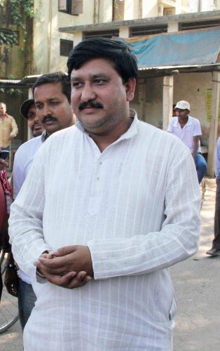 File Photo of Trinamool Congress MLA Satyajit Biswas from Krishnagunj in Nadia. (PTI Photo)