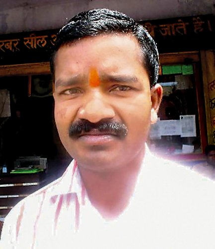 An undated picture of BJP legislator Bheema Mandavi who was killed in an IED blast triggered by the Maoists in Dantewada district of Chhattisgarh, on April 9, 2019. PTI