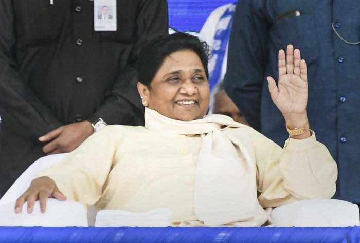 BSP supremo Mayawati during an election campaign rally. (PTI File Photo)
