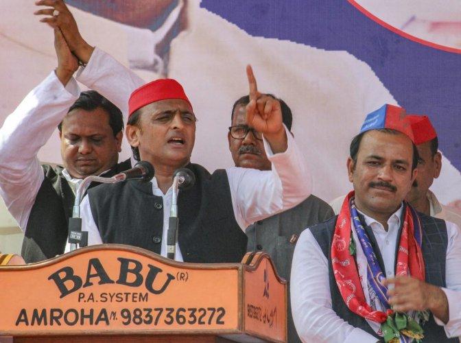 Samajwadi Party chief Akhilesh Yadav. (PTI)
