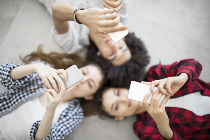 The researchers used a rigorous methodology to gather how much time an adolescent spends on screens per day, including both self-reported measures and time-use diaries. File photo