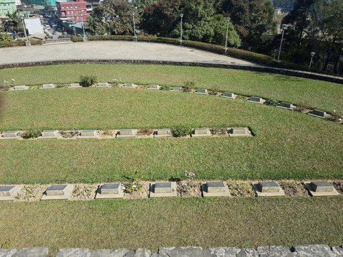 Kohima War Cemetery. PHOTOS BY AUTHOR