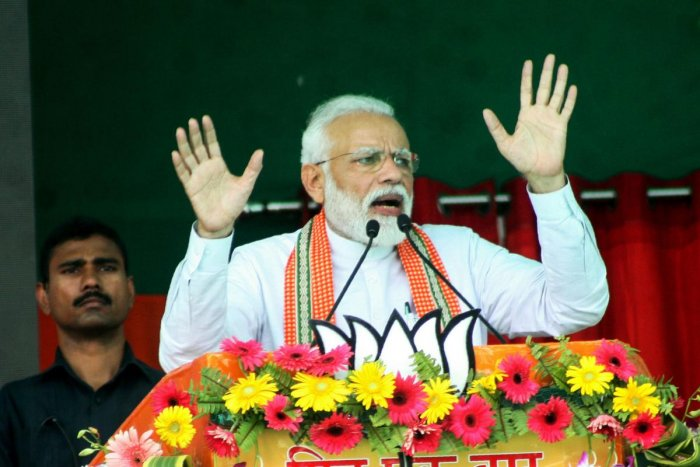 The Prime Minister has been describing the opposition 'mahagatbandhan' (mega alliance) as 'mahamilavati,' meaning adulterated. AFP File photo