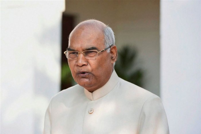 Ram Nath Kovind, the President of India. PTI file photo