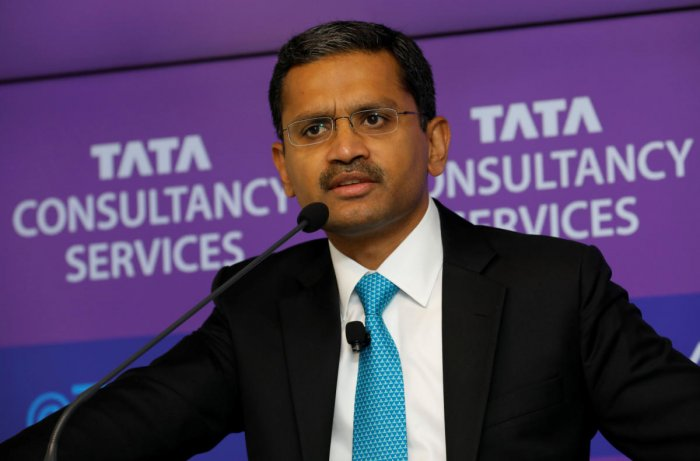 """TCS CEO Rajesh Gopinathan on Friday described the fiscal as """"picture perfect year"""" and stated that despite macro uncertainties ahead, strong exit (from FY19 positions the company very well for the new fiscal. Reuters file photo"""