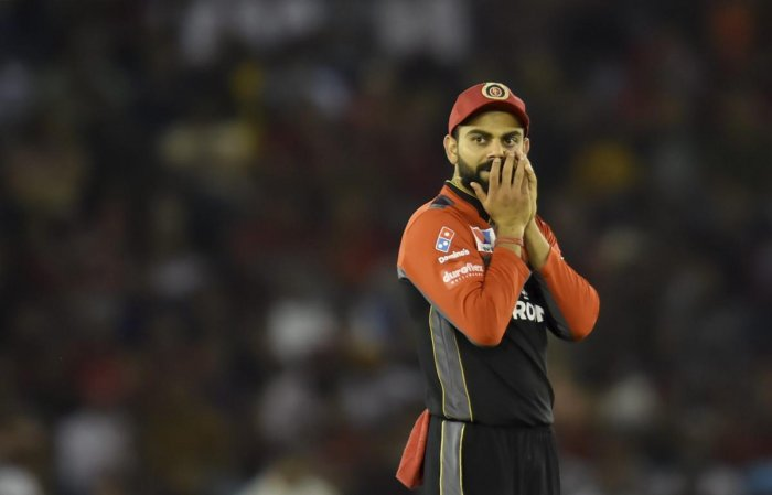 RELIEVED: Royal Challengers Bangalore's skipper Virat Kohli said it was a great feeling to notch their first win. PTI