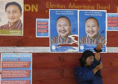 Opposition PDP storms to power in Bhutan