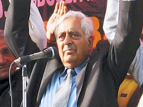 PDP on course to tie up with BJP: Mufti