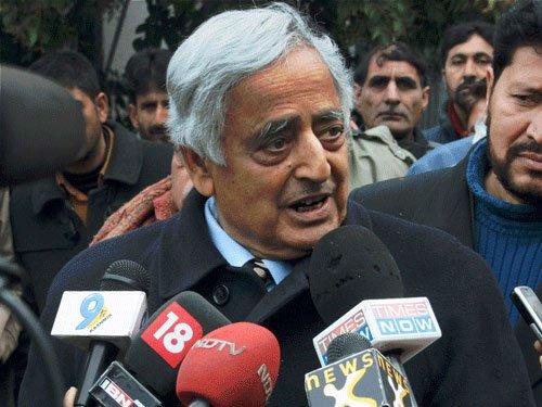 Mufti dies, Mehbooba to be new J&K CM