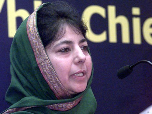 Only peace can allow govt to resuscitate J-K's economy: Mehbooba Mufti