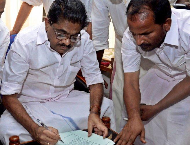Congress Kerala prez resigns, cites ill health