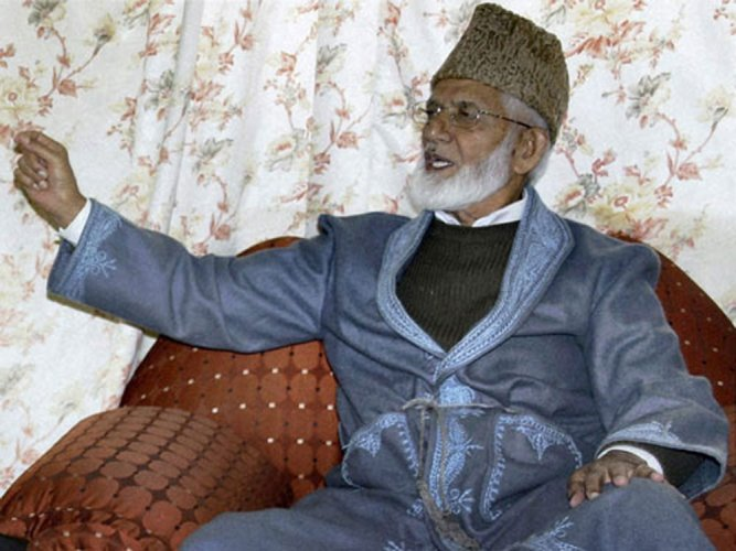 Geelani terms killing of PDP leader by militants 'un-Islamic'