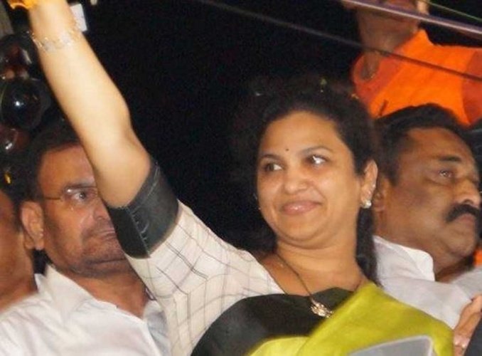 YSR Congress MP Butta Renuka joins TDP