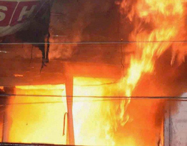 Mob sets house of slain PDP worker on fire