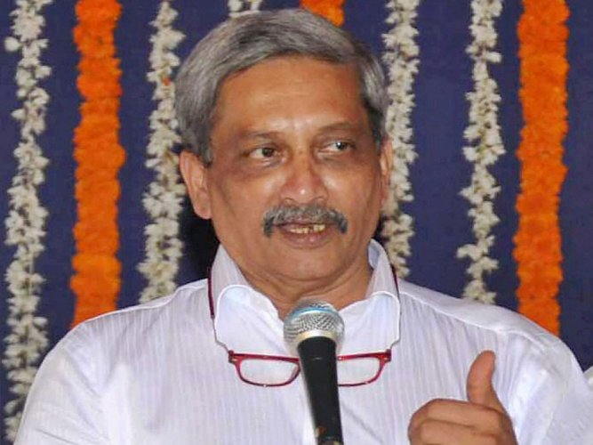 Parrikar, 62, was flown to Delhi on Saturday for a follow-up treatment at the All India Institute of Medical Sciences (AIIMS). (PTI File Photo)