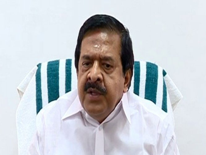 Ramesh Chennithala, the  Leader of the Opposition in the Kerala Legislative Assembly. (Image courtesy Twitter)