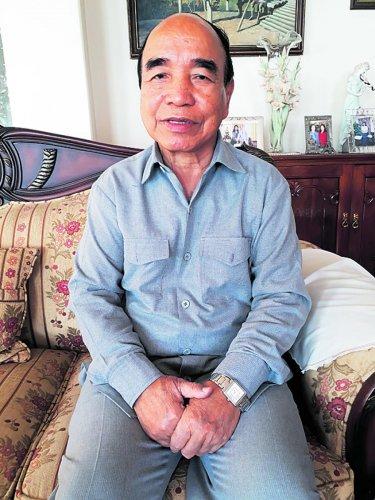 FormerMizoram chief minister Zoramthanga.
