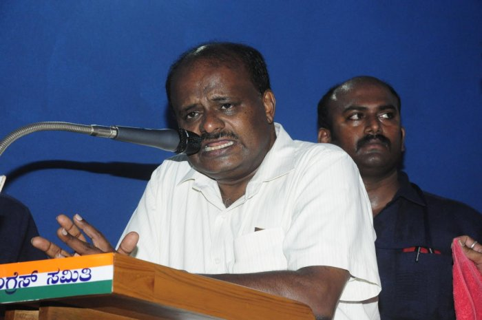 """KPCC also disapproved of the letter by Balakrishnan to ECI in which he termed the recent protest by Chief Minister H D Kumaraswamy and other leaders of State government as """"Mamata Bannerjee tactics"""". (DH FIle Photo)"""