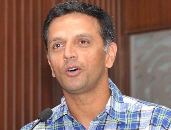Former India captain Rahul Dravid. (DH File Photo)